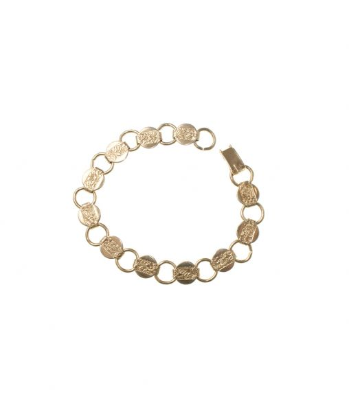 Sarah Coventry linked bracelet
