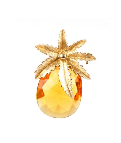Sarah Coventry Pineapple Brooch Pendant