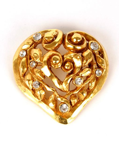Limited Edition Lacroix Heart Brooch 1991
